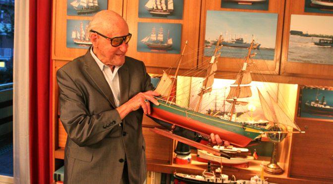 Der 99-Jährige, der in die Schule geht: Wilhelm Simonsohn ist ein gefragter Zeitzeuge