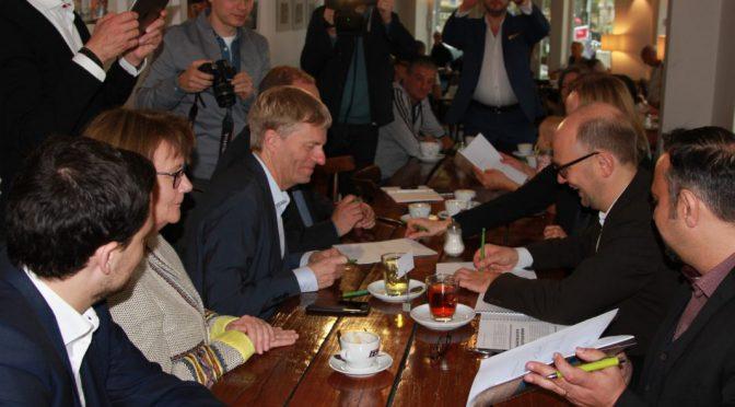 Eimsbüttel: Auftakt für fünf Jahre Schwarz-Grün